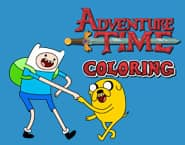 Adventure Time Coloring