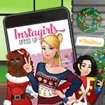 Instagirls Christmas Dress Up