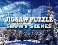 Jigsaw Puzzle: Snowy Scenes
