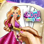 Doll Coloring Book